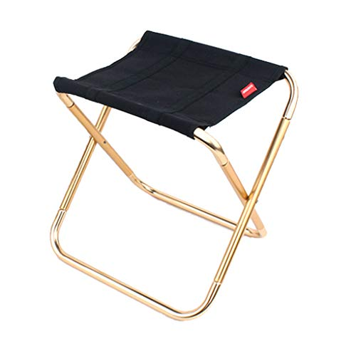Simple Portable Folding Light-Weight Chair Outdoor Camping Fishing Picnic Beach BBQ Stools Mini Seat Outdoor Tools (L) -