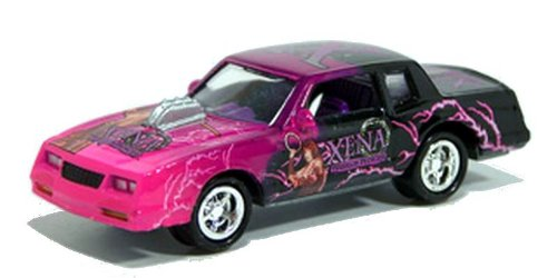 Johnny Lightning - Team Lightning Die-Cast Metal Road Rods XENA WARRIOR PRINCESS