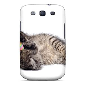 For Galaxy S3 Tpu Phone Case Cover(playing Cat)