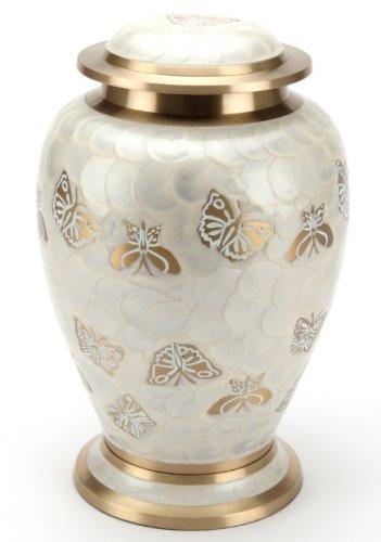 Urne Burford Regno Unito - urna funeraria (metallo e ottone, 7.6 cm), beige Urns UK UU400028A