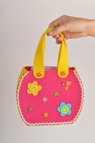 Bolso de moda artesanal de fieltro accesorio para mujer regalo original
