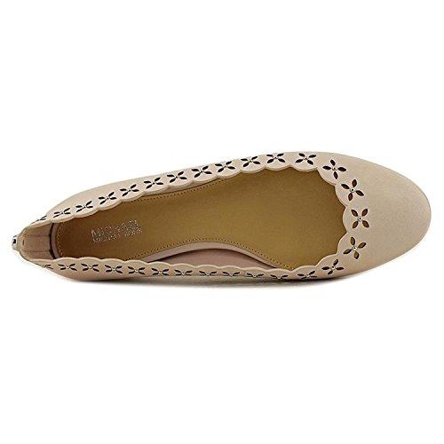 MICHAEL Michael Kors Womens Thalia Leather Round Toe Ballet, Soft Pink, Size 6.0