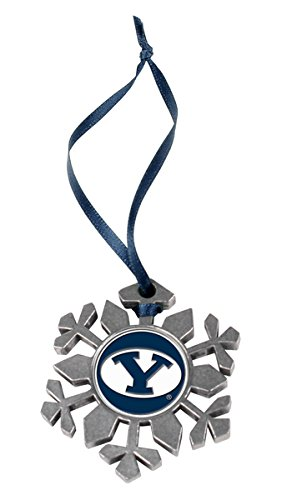 (LinksWalker NCAA Brigham Young Univ. Cougars - Snow Flake Ornament)
