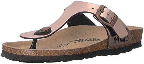 Bayton Women's MERCURE Sandal, Nude, 41 Medium EU (10 US) from Bayton