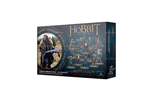 Games Workshop The Hobbit: Thorin Oakenshield and Company Miniatures -