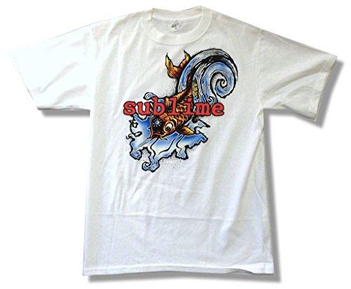 Sublime Koi - Sublime Fish Koi Classic Image White T Shirt (2X)