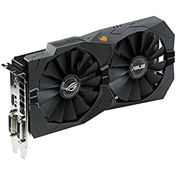 ASUS ROG STRIX Radeon Rx 470 4GB OC Edition AMD Graphics Card with DP 1.4 HDMI 2.0 (STRIX-RX470-O4G-GAMING)