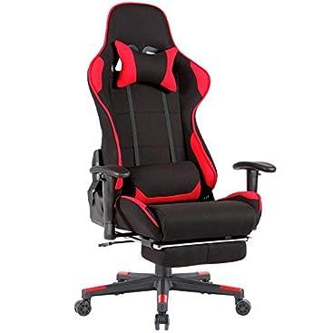 Schwarzrot Gamer Mit Racer Pvc Stuhl Gaming Schreibtischstuhl X Mecor Fußstütze N8mwOy0vnP