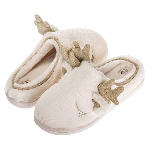 Echoapple Chaussons pour Femme Echoapple Blanc Chaussons Echoapple Chaussons pour Femme Blanc Blanc pour Femme rq0Arx