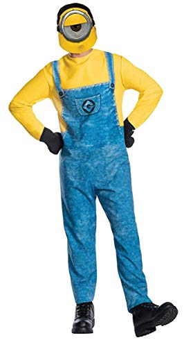 Rubie's Costume Co Men's Despicable Me 3 Movie Minion Costume, As Shown, Standard