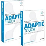 Adaptic Touch Non Adhering Dressing, Flexible, 8'' x 12-3/4''