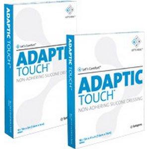 Adaptic Touch Non Adhering Dressing, Flexible, 8'' x 12-3/4''