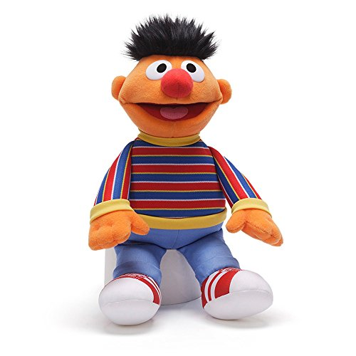 Gund Sesame Street Ernie Plush Toy (Doll Plush Figure)
