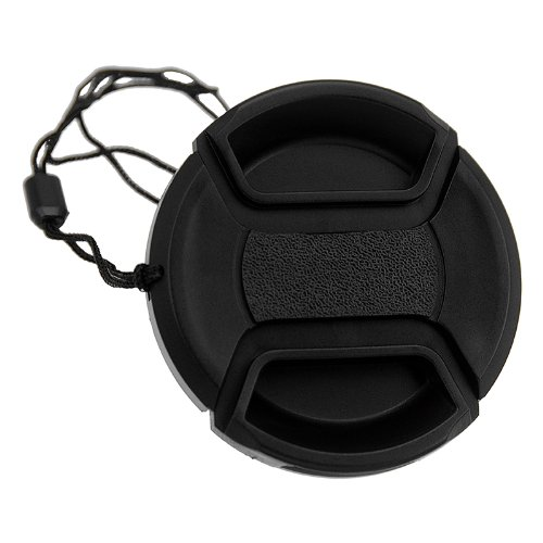 Fotodiox 05CAPT52x1 52mm Inner-pinch Lens Cap with Cap Keeper