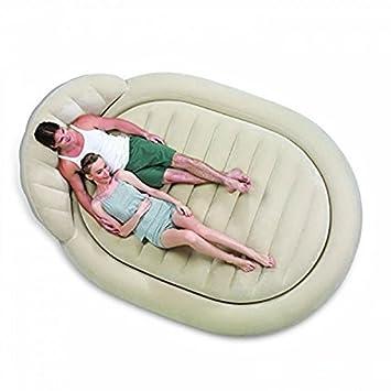 Bestway Royal - Cama hinchable redonda para camping y casa ...