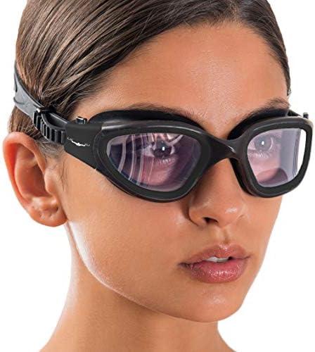Wide View Swim Goggles // Swimming Workouts - Open Water // Indoor - Outdoor Line