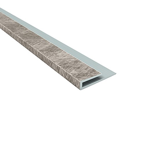 FASÄDE Easy Installation Traditional Style/Pattern #4 Crosshatch Silver Glue Up Ceiling Tile/Ceiling Panel (48