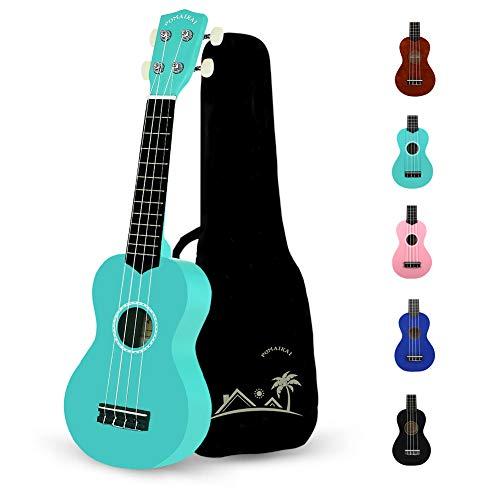 POMAIKAI Soprano Wood Ukulele Rainbow Starter Uke Hawaii kids Guitar