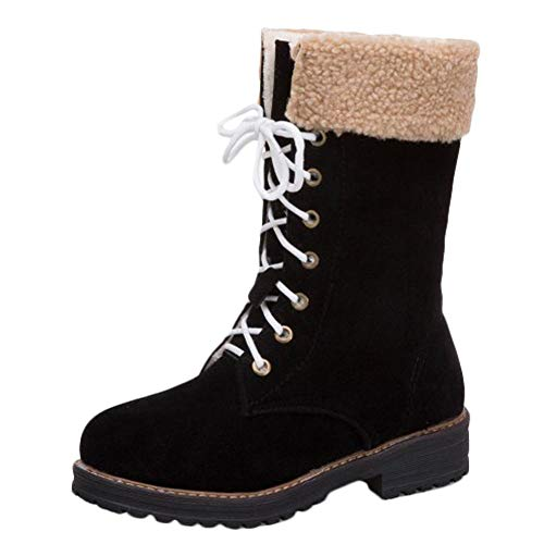 Faux Black Comfort Snow Fur Carolbar Boots Womens 85TxHHqp