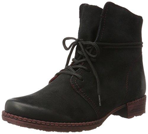 02 Womens Boot Remonte Black D4388 Schwarz Schwarz E15zwq8