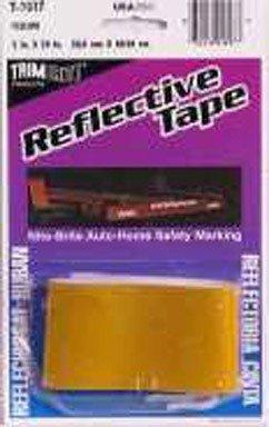 Trim Brite Reflective Tape 2 X 24 Yellow