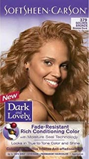 Dark And Lovely Natural Black 372 Fade Resistant Permanent Hair