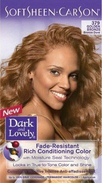 dark and lovely hair dye color 379 golden bronze - Dark And Lovely Coloration