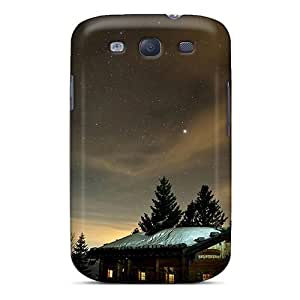 New Premium UyDNS5266ZtWlN Case Cover For Galaxy S3/ Winter Night Sky Protective Case Cover