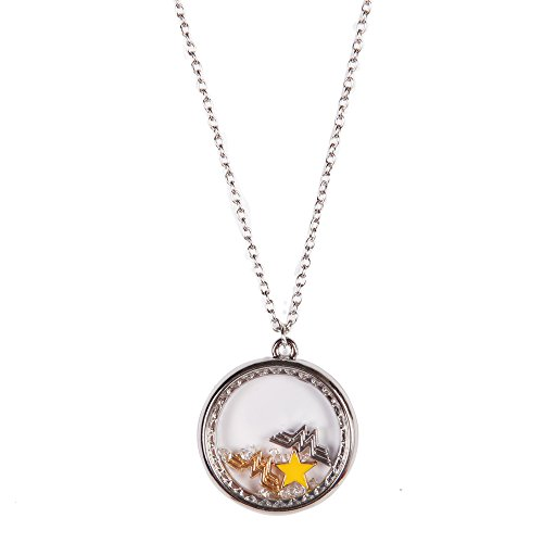 DC+Comics Products : DC Comics Wonder Woman Charm Shaker Necklace W/ 24 Inch Chain