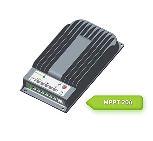 Newpowa 20/40A MPPT Solar Charge Controller 12V 24V Battery