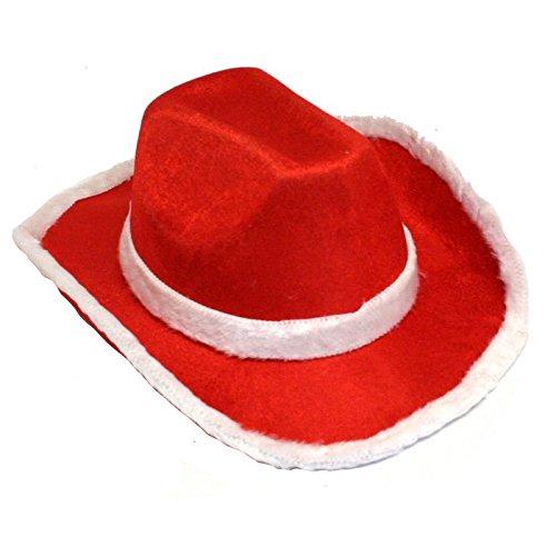 Fun Express Santa Cowboy Hat -