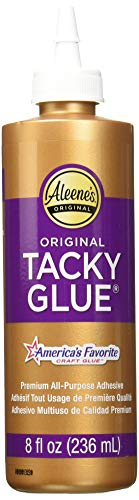 Felt Flower Adhesive - Aleene's 36116 Original Tacky Glue 3 Pack, 8 Oz