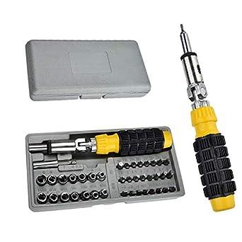 Sonani Multipurpose Screwdriver Set - 41 in 1 Pcs for Car and Bike Repairing Tool Kit