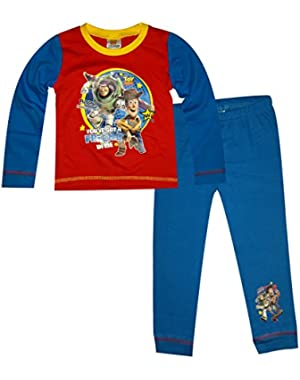 Boys Toddlers Toy Story Full Length Snuggle Fit Pyjama 1-2,2-3,3-4,4-5 Years