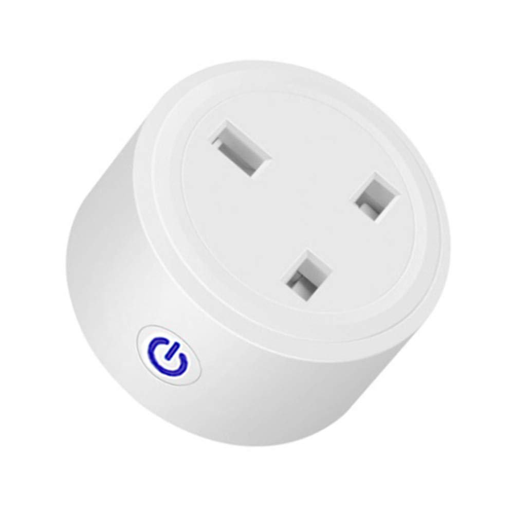 WiFi Smart Plug Socket Timing Countdown Power Consumption Control Your Home Appliances Support Amozon Alexa Echo, IFTTT,Google Home Voice Control App Remote Honbolay