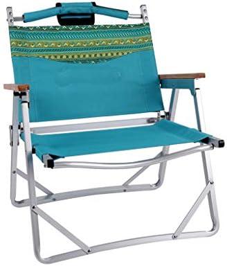 JSFQ Silla de Playa con Silla Plegable al Aire Libre, fácil ...