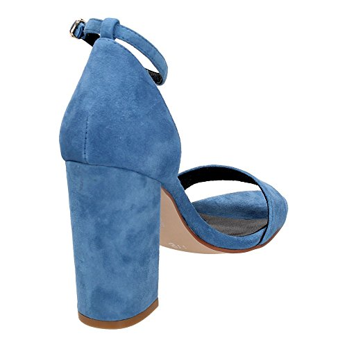 Bibi Lou - Sandalias de vestir para mujer azul azul celeste azul celeste