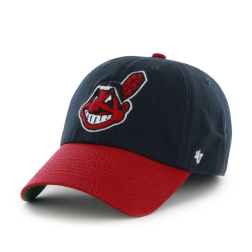 Design Cleveland Team Indians (MLB Cleveland Indians Cap, Navy, X-Large)