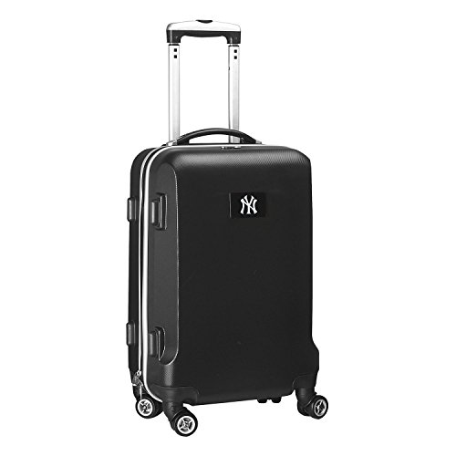 MLB New York Yankees Carry-On Hardcase Spinner, Black by Denco