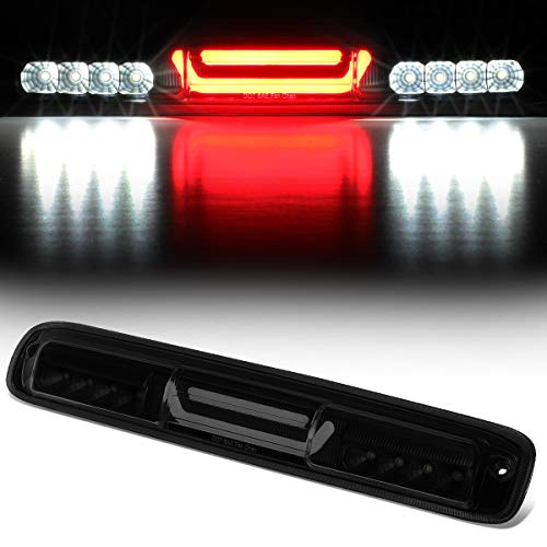 Rear Center 3D LED Bar Third 3rd Tail Brake Light Cargo Lamp for 99-07 Chevy Silverado/GMC Sierra (Tinted) - 3rd Smoked Brake Light