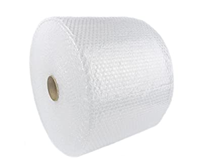 WLPackaging Bubble Cushioning Wrap, Perforated Every 12""