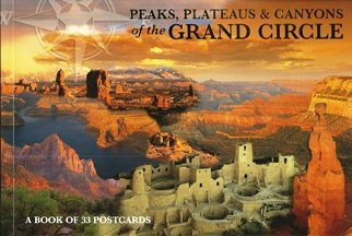 A Book of 33 Postcards Peaks, Plateaus & Canyons of the Grand