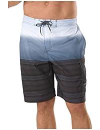 Speedo Men's Surging Stripe E-Boardshorts