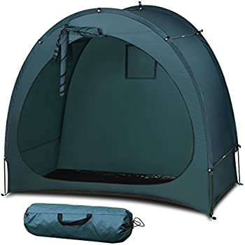 YP Outdoor Weatherproof Garage Shed Bicycle Tent Space Saver for C&ingBackyardsTours - Bike Shed Portable Bike Storage Tent  sc 1 st  Amazon.com & Amazon.com: Wealers Outdoor Portable Garage Shed Bicycle Storage ...