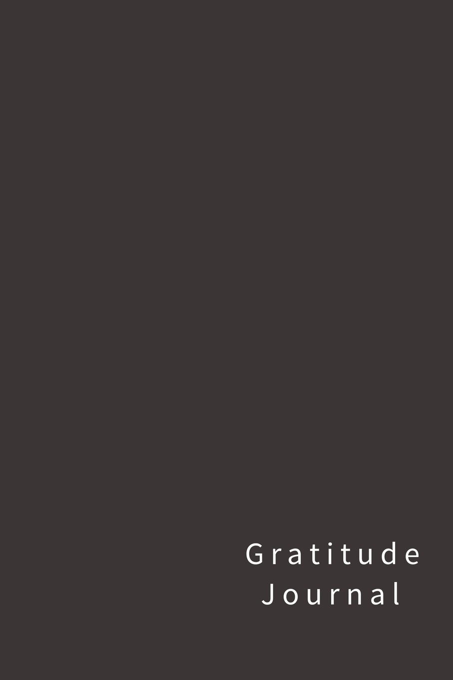 gratitude journal 110 pages softcover 6 x 9 inches silver