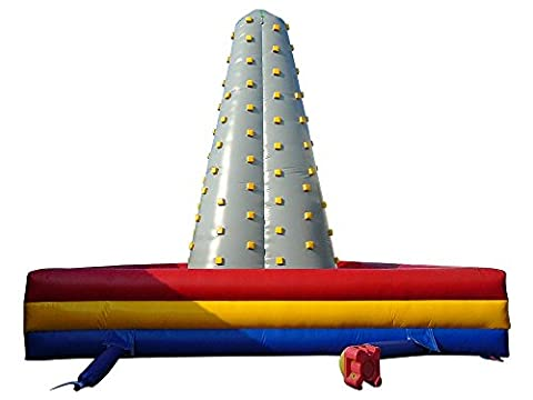 Inflatable Commercial Grade Climb Wall with Blower