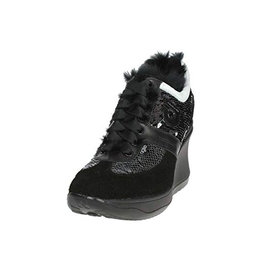 Agile 1800 Sneakers By Rucoline Black High C Women HwRrHvq