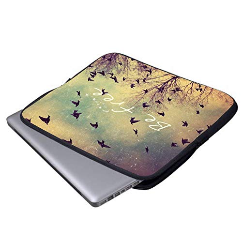 CHJOO Laptop Men Walk Between 13/15 Inch Briefcase Bags Waterproof Portable Messenger