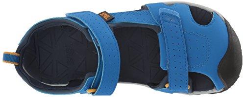 4da105924 Teva Boys  K Hurricane Toe PRO Sport Sandal Dazzling Blue 11 M US Little Kid