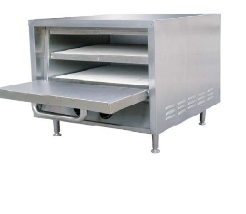 Adcraft PO-22 22-Inch Single Deck Counterop Pizza Oven, Stainless Steel, 240v, NSF